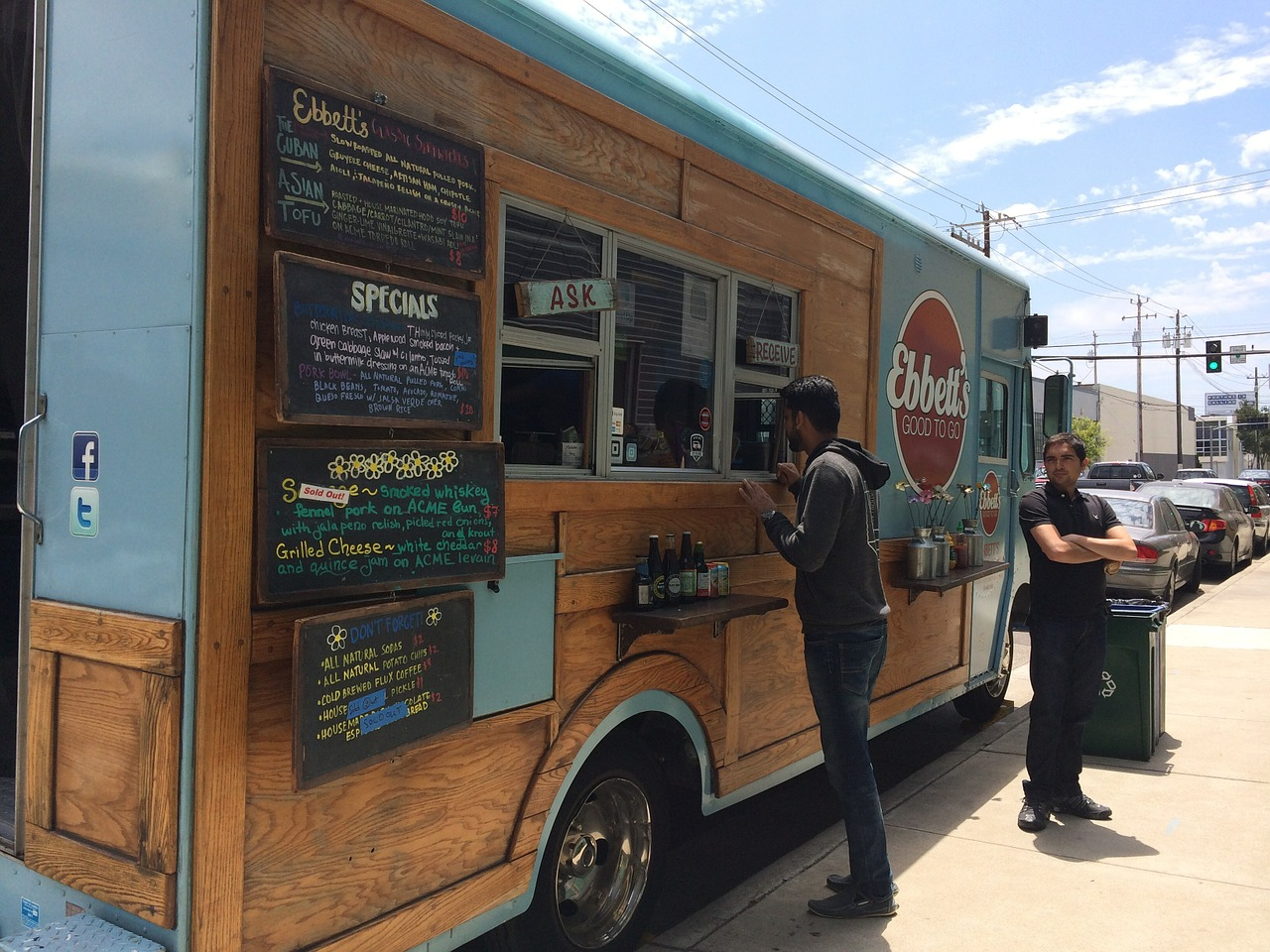5ee408b2fe Food Truck in Excellent Condition Branded w Social Media Following for Sale