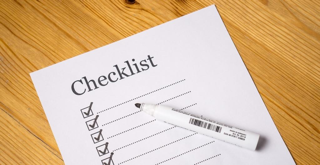 Outside Screening Checklist